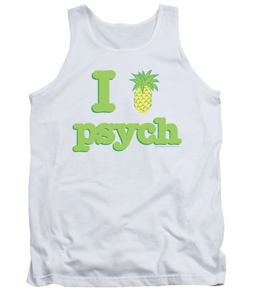 Psych - I Like Psych Tank Top