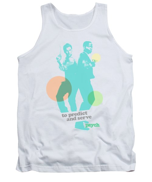 Psych - Predict And Serve Tank Top