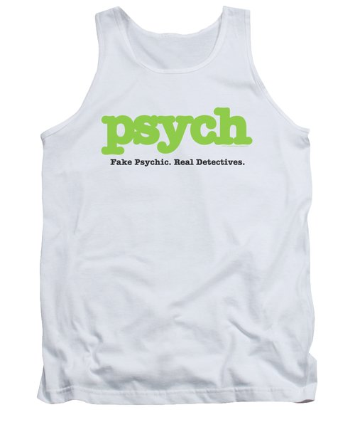 Psych - Title Tank Top