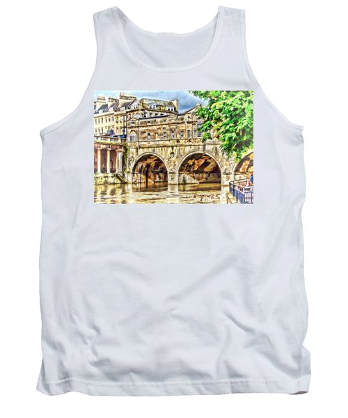 Pulteney Bridge Bath Tank Top