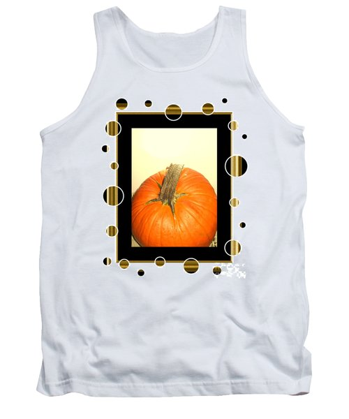 Pumpkin Card Tank Top