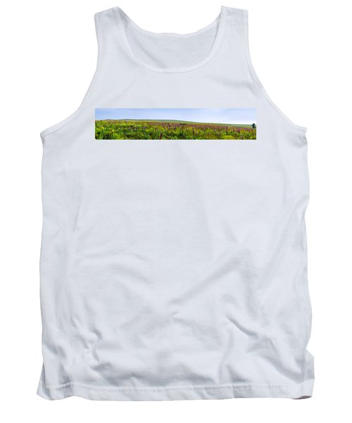 Purple Hills Tank Top