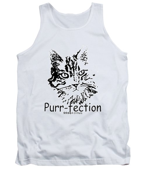 Tank Top featuring the photograph Purr-fection by Robyn Stacey