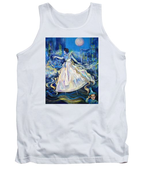 Pursuit Of Happiness Tank Top by Anna  Duyunova