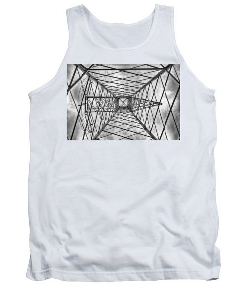 Tank Top featuring the photograph Pylon by Howard Salmon