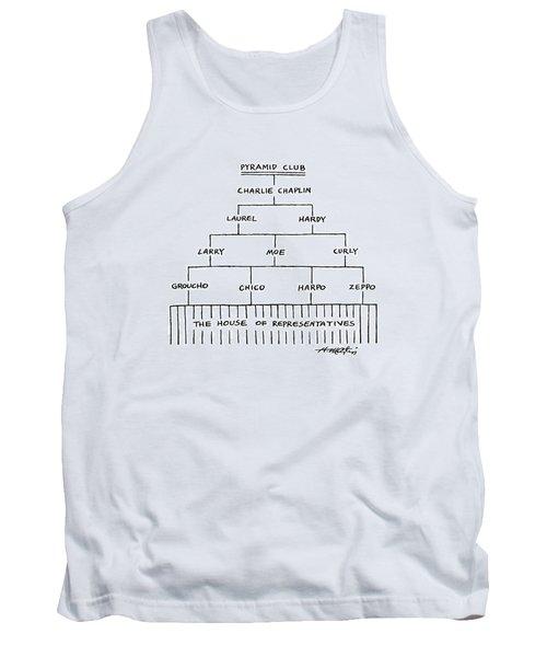 Pyramid Club Tank Top