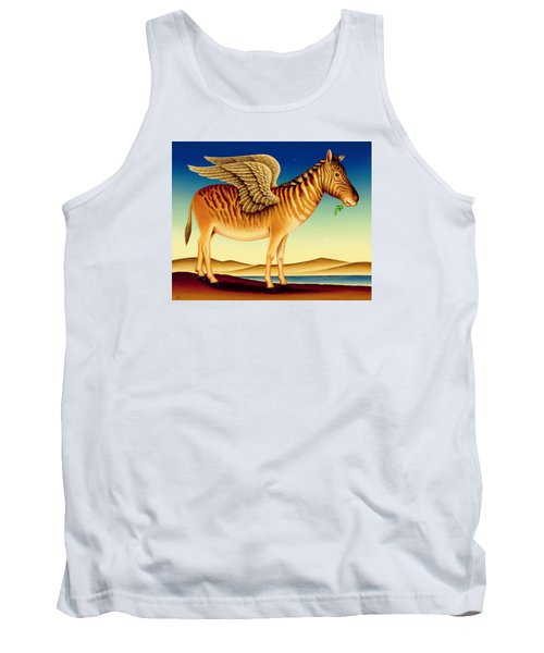 Quagga Tank Top by Frances Broomfield