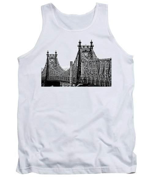 Queensborough Or 59th Street Bridge Tank Top