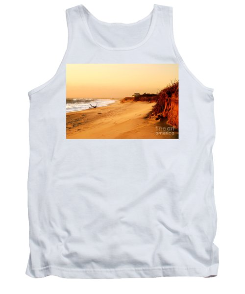 Quiet Summer Sunset Tank Top by Sabine Jacobs