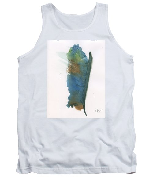 Tank Top featuring the painting Quill by Frank Bright