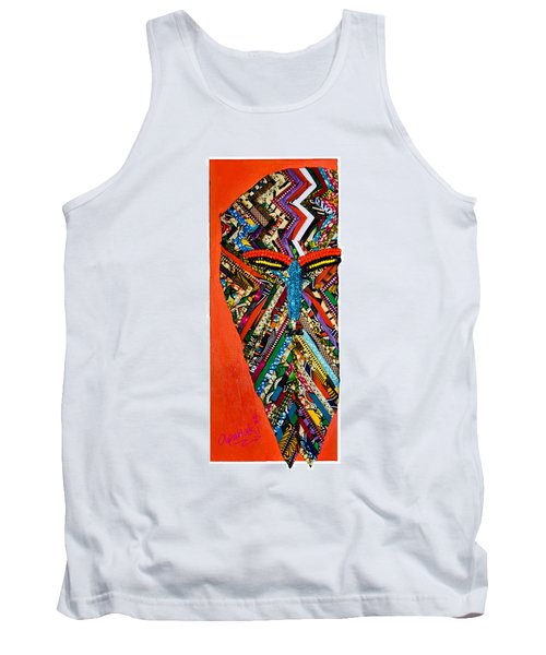 Quilted Warrior Tank Top