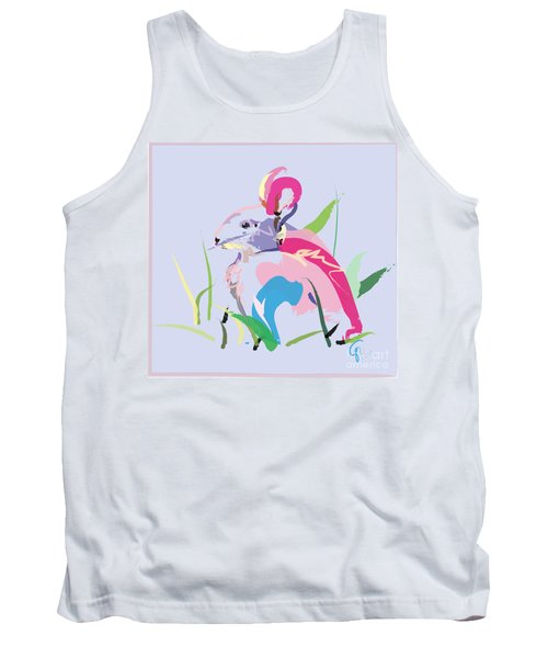 Rabbit - Bunny In Color Tank Top