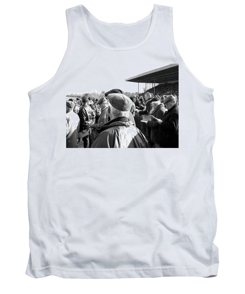 Tank Top featuring the photograph Race Day by Suzanne Oesterling