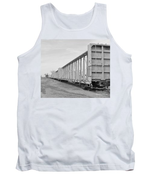 Rail Cars Tank Top