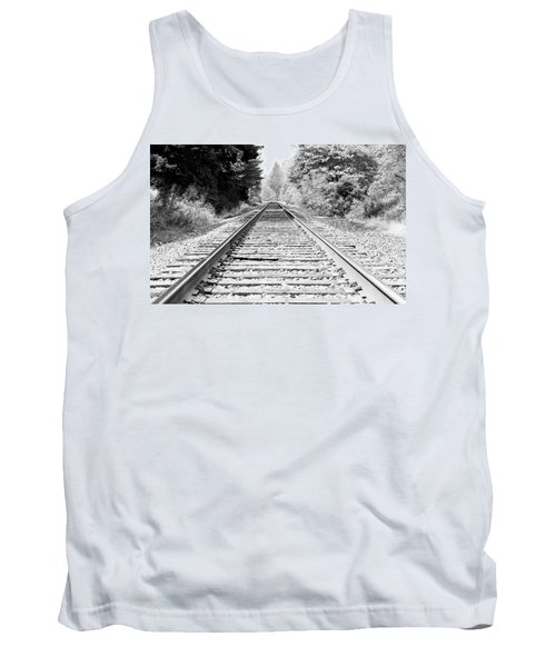 Railroad Tracks Tank Top