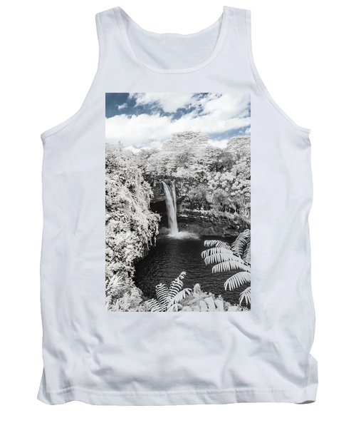 Rainbow Falls In Infrared 1 Tank Top