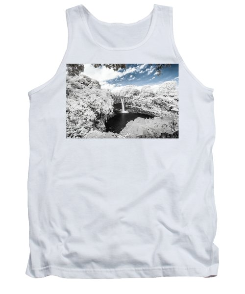 Rainbow Falls In Infrared 3 Tank Top