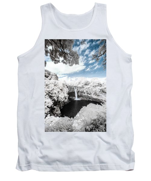 Rainbow Falls In Infrared 4 Tank Top