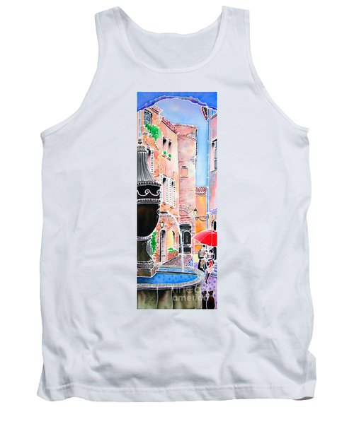 Raining In St-paul De Vence Tank Top