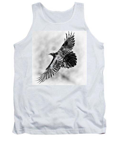 Raven Of Death Valley Tank Top