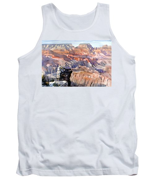 Tank Top featuring the painting Ravens by Donald Maier