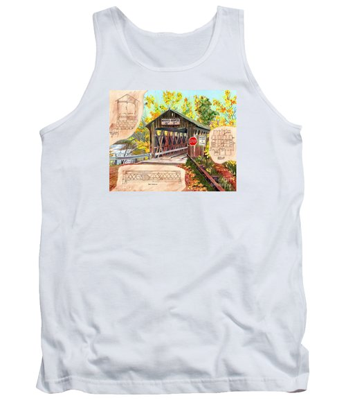 Rebuild The Bridge Tank Top by LeAnne Sowa