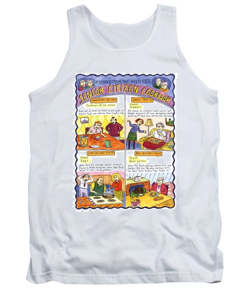 Recipes From The Revised Senior Citizen Cookbook Tank Top