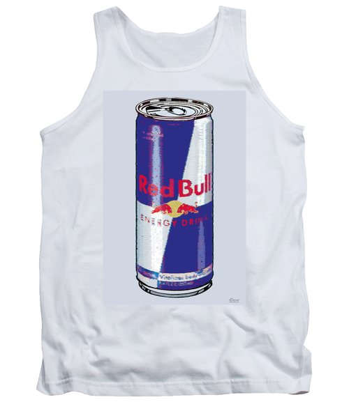 Red Bull Ode To Andy Warhol Tank Top