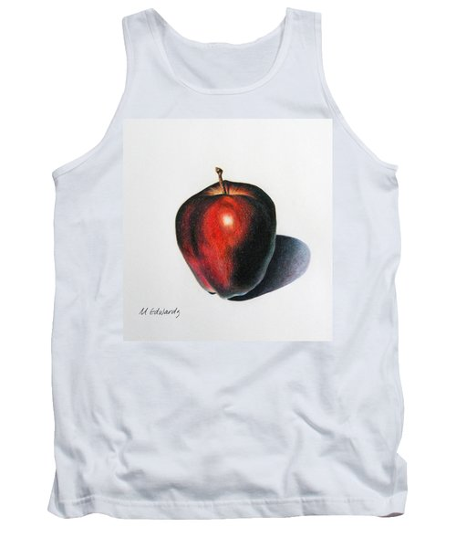 Red Delicious Apple Tank Top by Marna Edwards Flavell