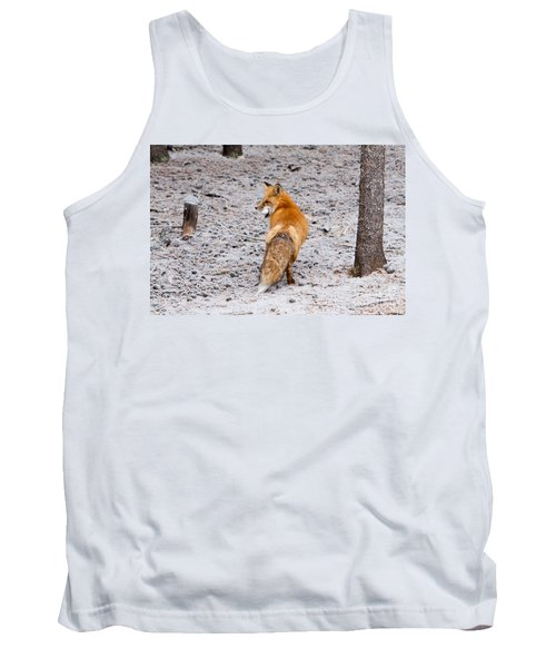 Red Fox Egg Thief Tank Top