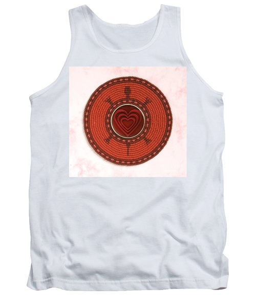 Red Heart Turtle Tank Top