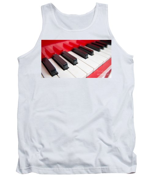 Red Piano Tank Top