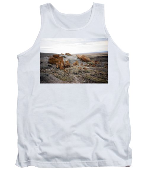 Red Rock Coulee II Tank Top by Leanna Lomanski