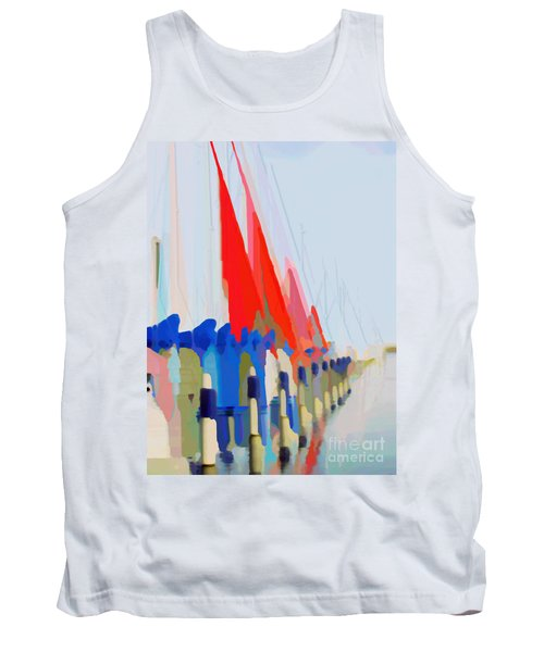 Red Sails In The Sunset Tank Top