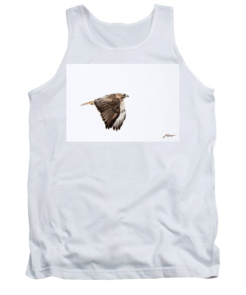 Red Tail In Flight Tank Top