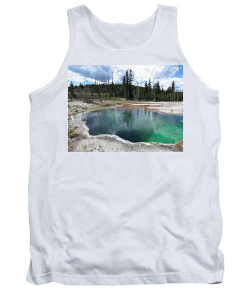Tank Top featuring the photograph Reflection by Laurel Powell