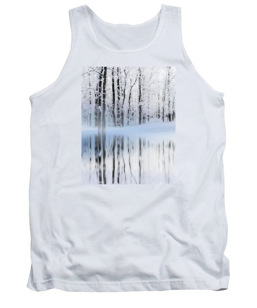 Reflection On A Dream Collingwood, On Tank Top by Andrea Kollo
