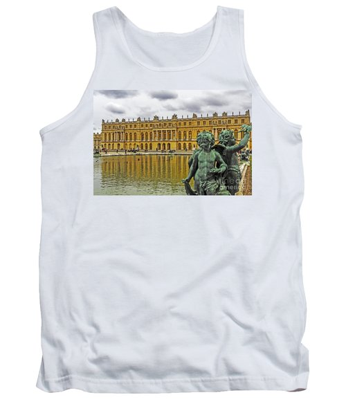 Reflection Pool Of Versailles Tank Top