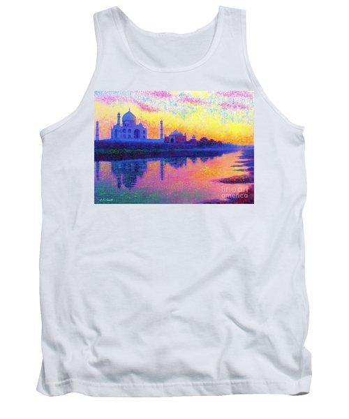 Taj Mahal, Reflections Of India Tank Top