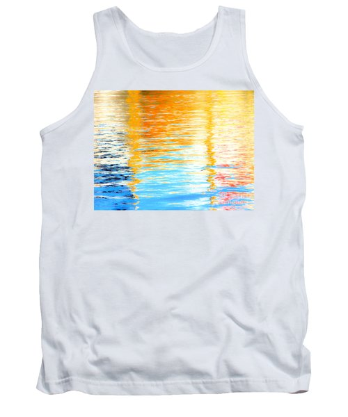 Reflections Of The Setting Sun Tank Top