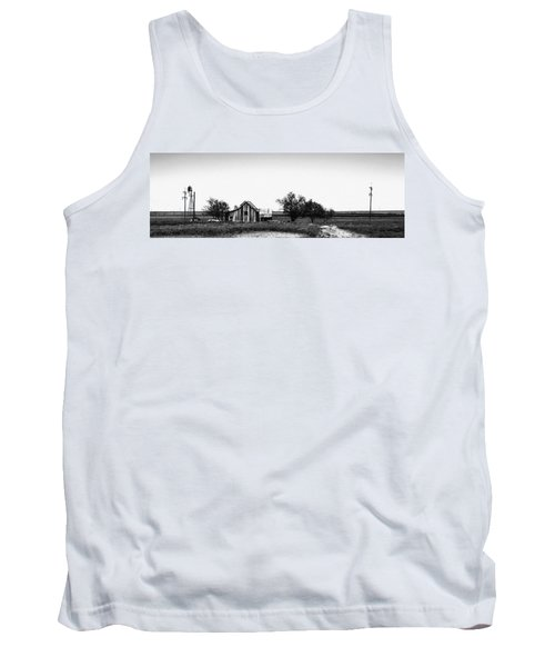 Remnants Of The Dust Bowl Tank Top by Lon Casler Bixby