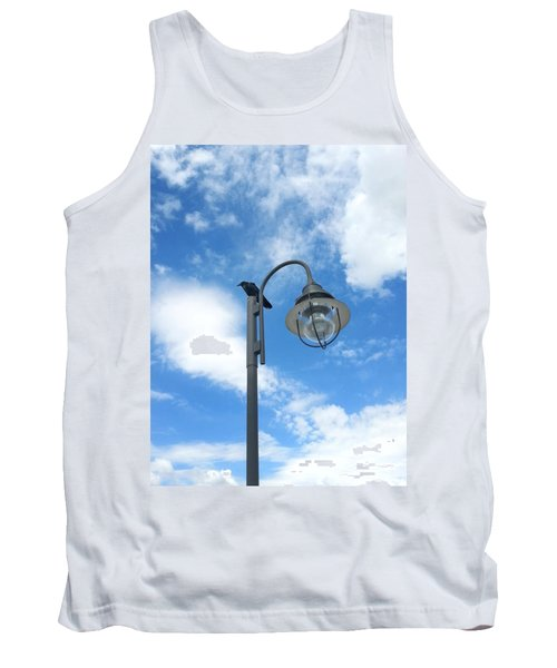 Rest Stop For The Harbinger Tank Top by Lon Casler Bixby