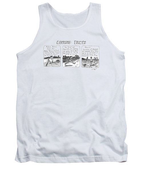 Revised Texts Tank Top