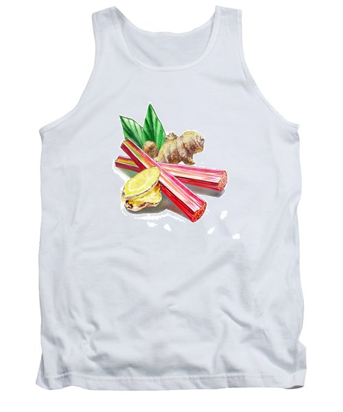 Rhubarb And Ginger Tank Top