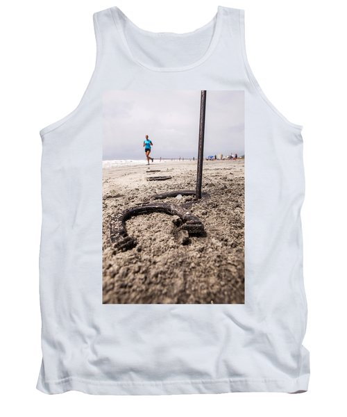 Tank Top featuring the photograph Ringer by Sennie Pierson