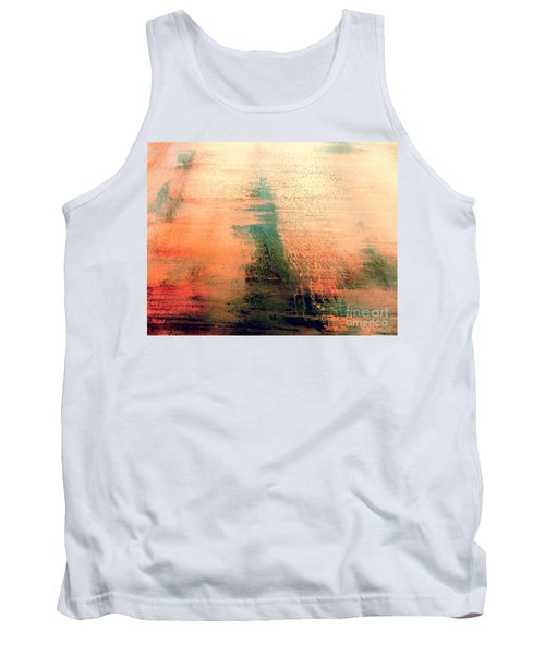 Tank Top featuring the painting Rise by Jacqueline McReynolds