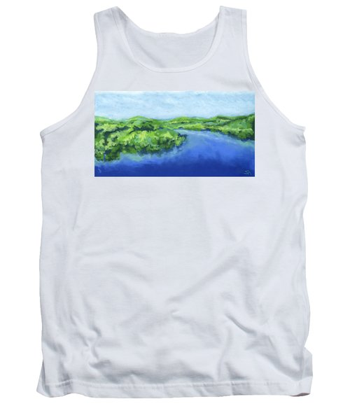 River Bend Tank Top by Stephen Anderson