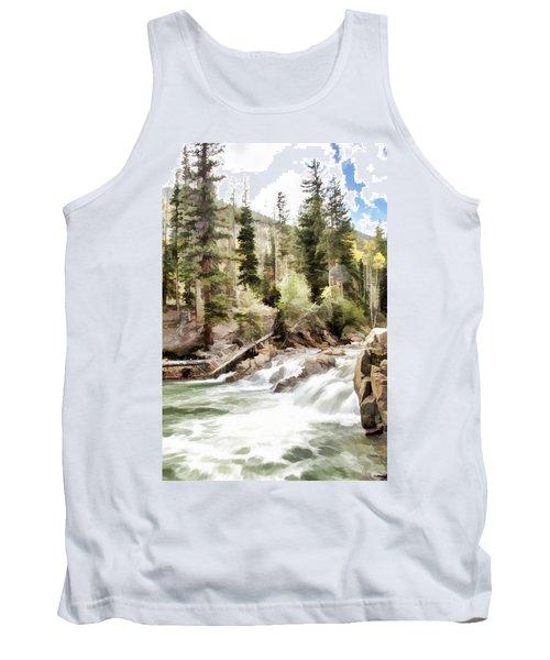 River Boulders Tank Top