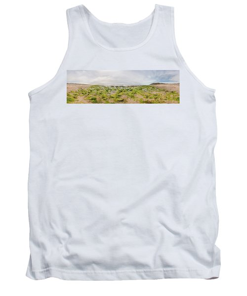 River Delta And Wetlands At Low Tide Tank Top