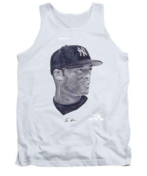 Tank Top featuring the painting Rivera by Tamir Barkan